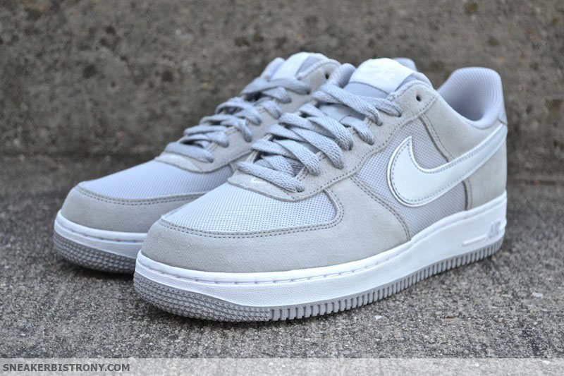 grey suede air force 1