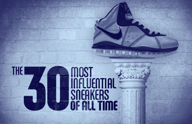 The 30 Most Influential Sneakers of All Time