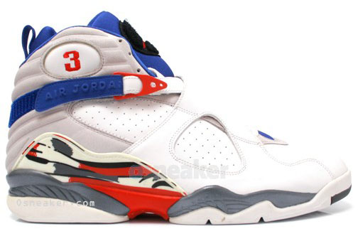 Quentin Richardson wearing Air Jordan VIII 8 Los Angeles Clippers Home PE (2)