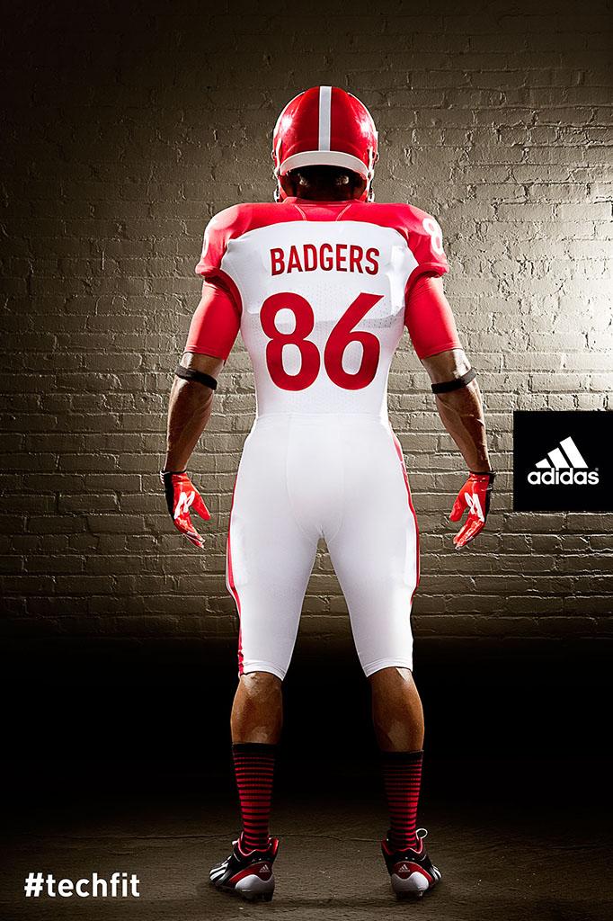 Adidas Amp Wisconsin Unveil Quot Unrivaled Game Quot Techfit
