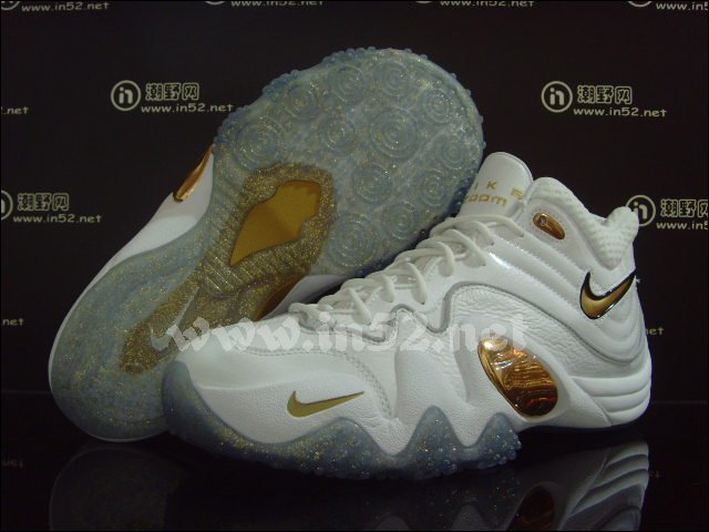 5c637720baedf Nike Zoom Uptempo V Premium White Gold 366570-103