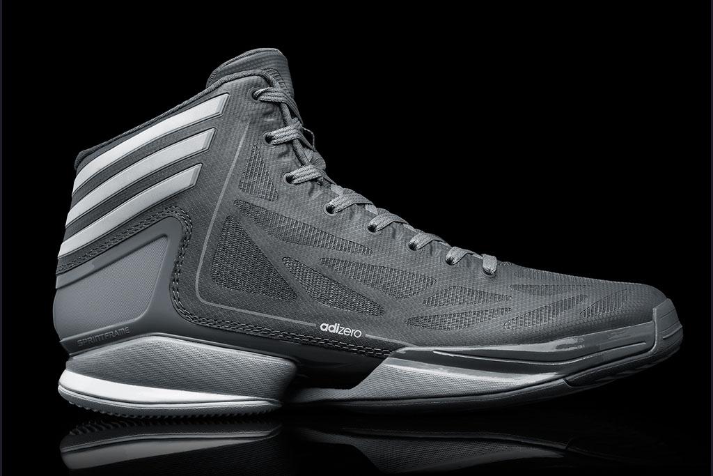 huge selection of ff374 5f4c7 adidas adiZero Crazy Light 2 Dark Onix Tech Grey White G59163 (1)