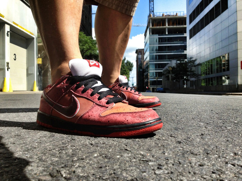 Spotlight // Forum Staff Weekly WDYWT? - 8.10.13 - Nike Dunk Low SB Lobster by Shooter
