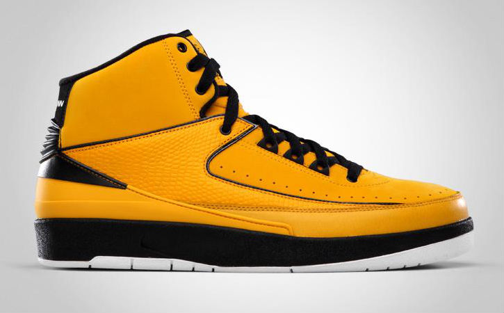 Hulk Hogan // Air Jordan II 2 Retro Candy Pack Yellow