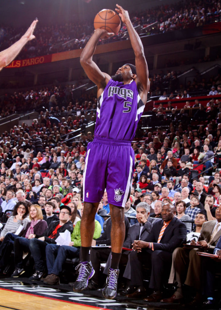 John Salmons wearing adidas adizero Crazy Light 2 Nightmare