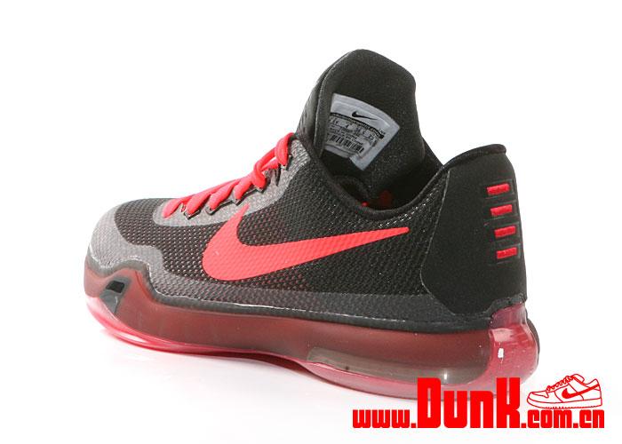b28a4b96ae65 Nike Kobe X GS Color  Black Bright Crimson-Anthracite Style    726067 060