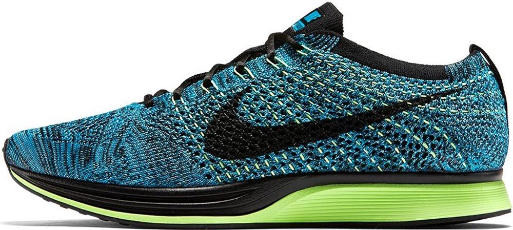 Nike Flyknit Racer Blue Lagoon/Polarized Blue-Ghost Green-Black