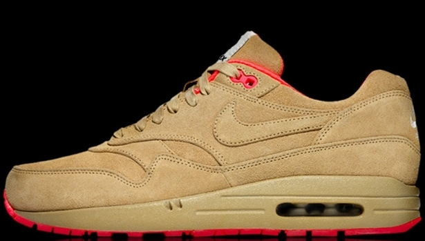 Nike Air Max 1 QS Milan Linen/Atomic Red