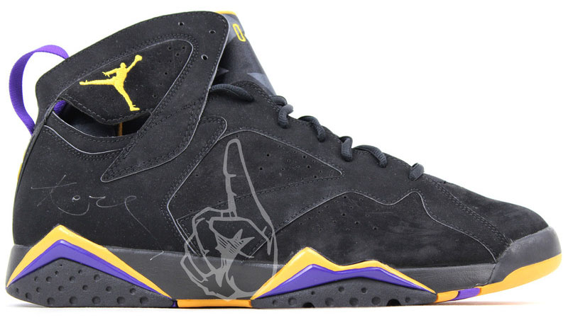 best website 22da8 60ca1 Air Jordan 7 Kobe Lakers PE (1)