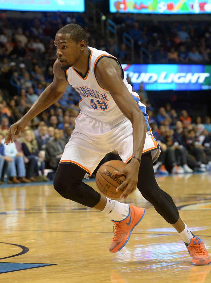 bf17dfd91a8 ... cheapest kevin durant wearing the creamsicle nike kd 8 0872f 1ea0c