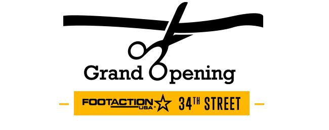 Footaction 34th Street NYC Grand Opening Tomorrow