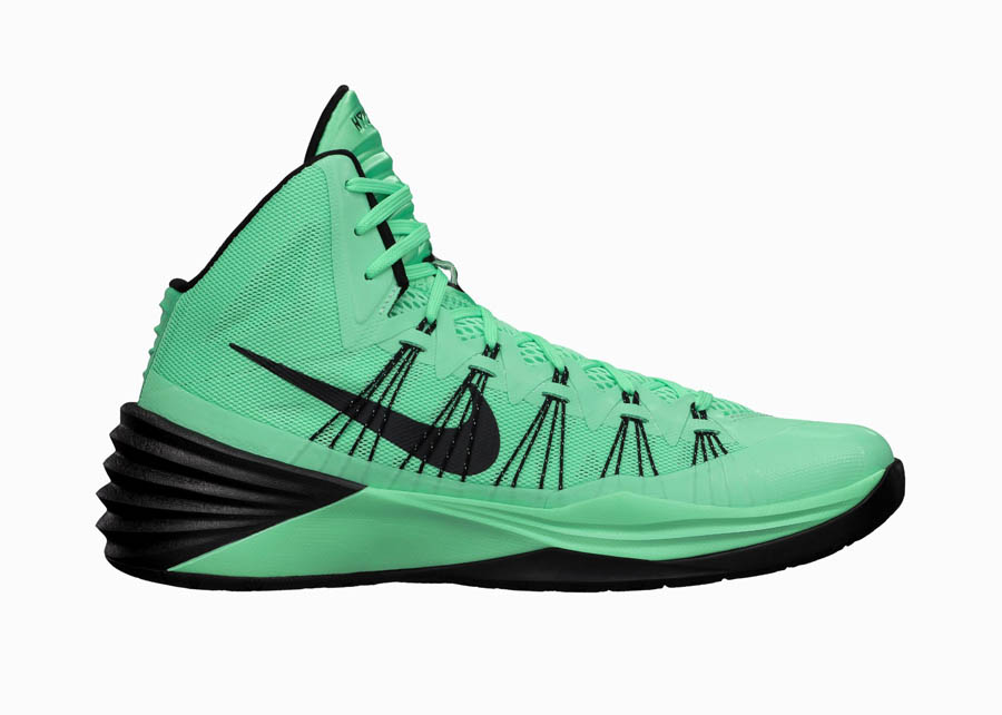 bb8bb9bf2a68 Nike Hyperdunk 2013 - Green Glow