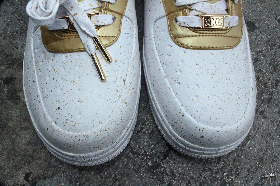 low priced a6048 c3bb1 Nike Air Force 1 Low Supreme TZ Gold Medal 516630-170 (5)