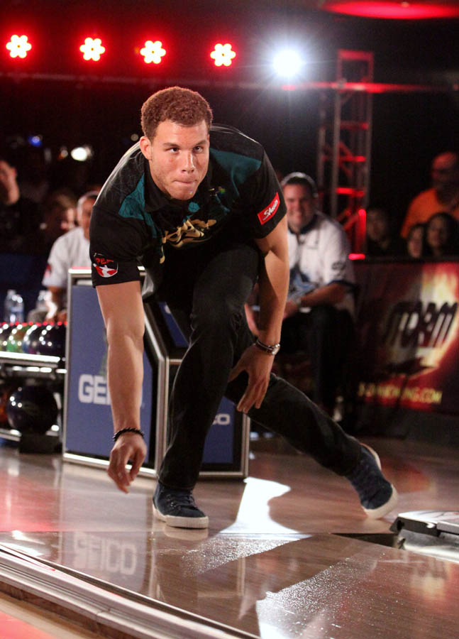 Chris Paul PBA Celebrity Bowling Tournament 2012 - Blake Griffin
