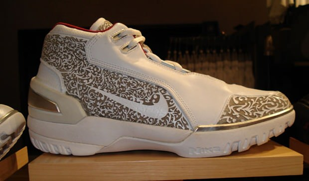 b17e4fcbfee In Context  The Laser Nike Air Zoom Generation. Learn more about LeBron  James  rookie Christmas sneakers.