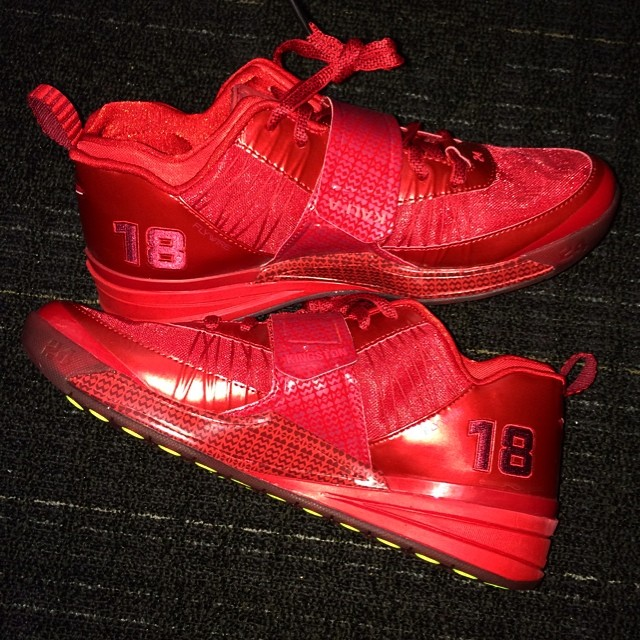 Shane Victorino Picks Up Nike Zoom Revis PE
