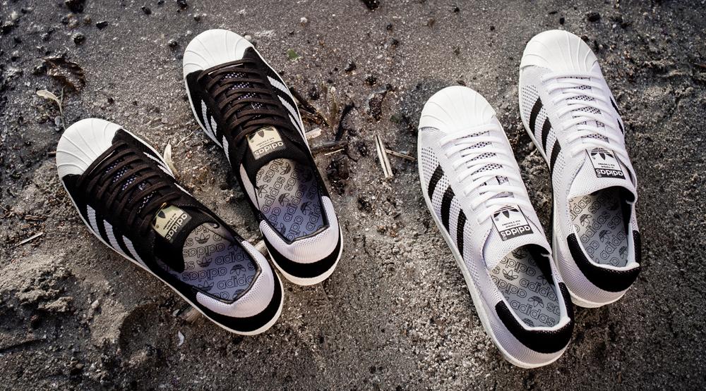 Primeknit adidas Superstars
