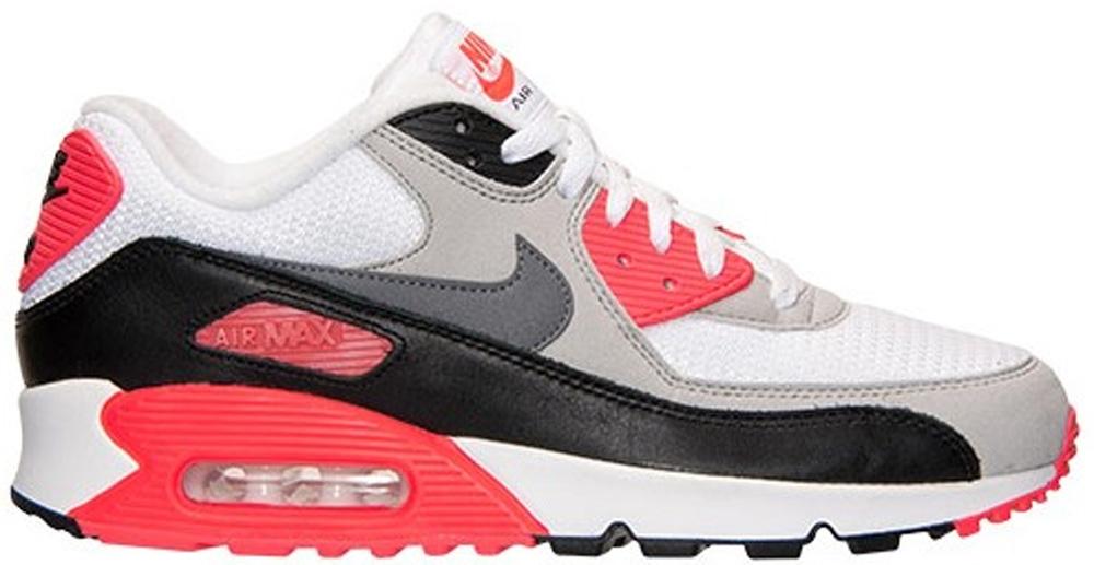 Nike Air Max '90 OG White/Cool Grey-Neural Grey-Black-Infrared
