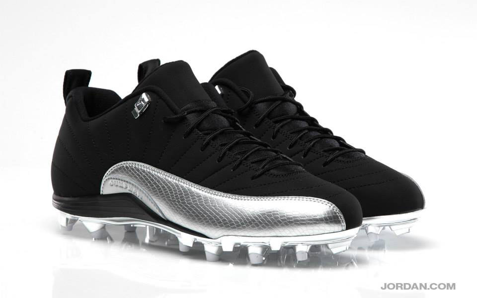 Charles Woodson's Air Jordan 12 XII Low Raiders PE