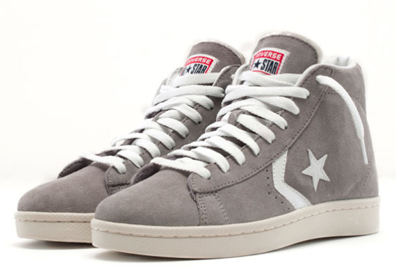 4827230d3422 Look for the Converse Pro Leather Suede this August at Converse retailers.  via Sneakernews