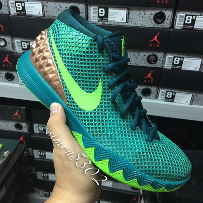 online store d565c 7b00e canada kyrie 1 green gold d18a0 125b3  coupon code for release date nike  kyrie 1 australia sole collector 754a4 38ee9