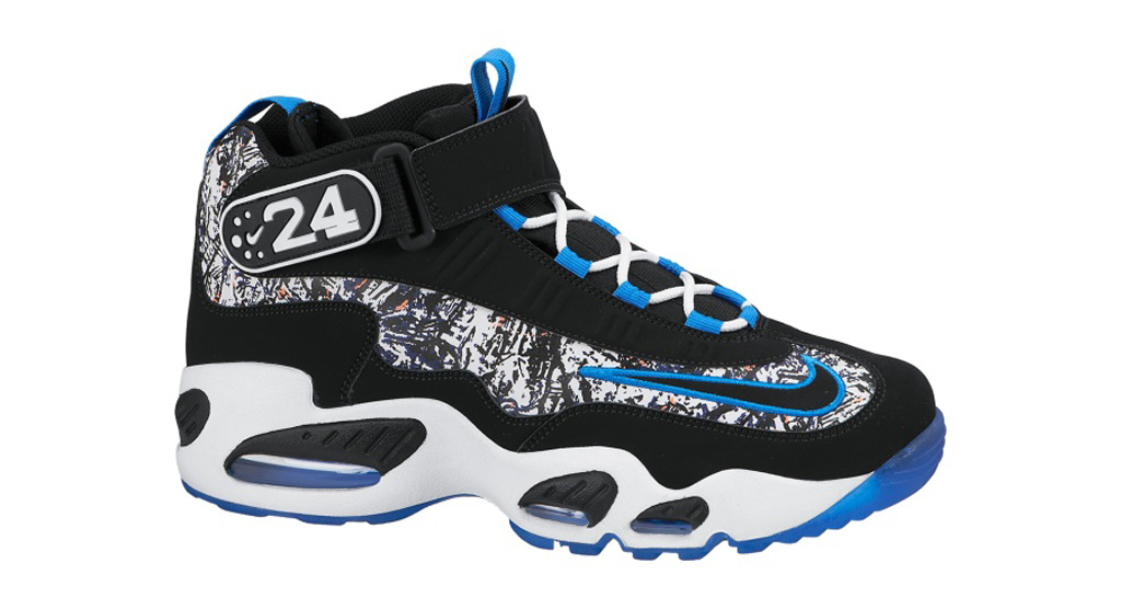Release Date: Nike Air Griffey Max 1 Black/Metallic Silver Light