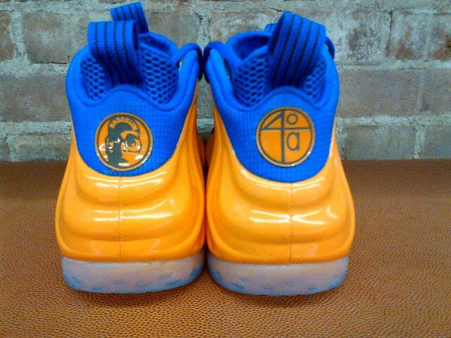 premium selection 27630 2737c Nike Air Foamposite One Spike Lee Knicks (2)