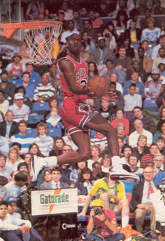 9c8d2dae731 The Complete History of NBA Slam Dunk Champions and the Shoes They ...