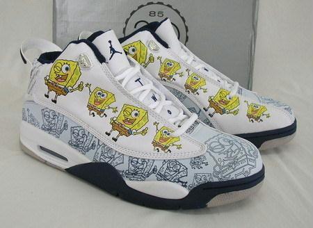 Spongebob Jordan Shoes