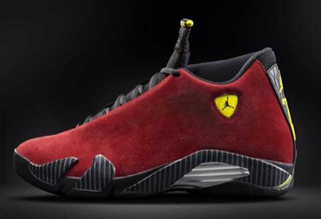 Air Jordan XIV 14 Red Suede Release Date 654459-670 (1)