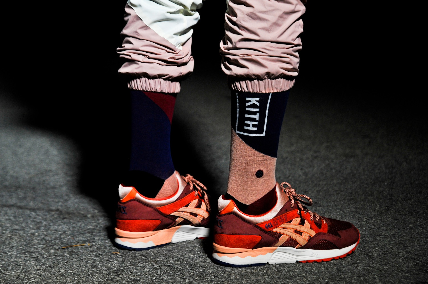 Kith Volcano Capsule Collection crew sock