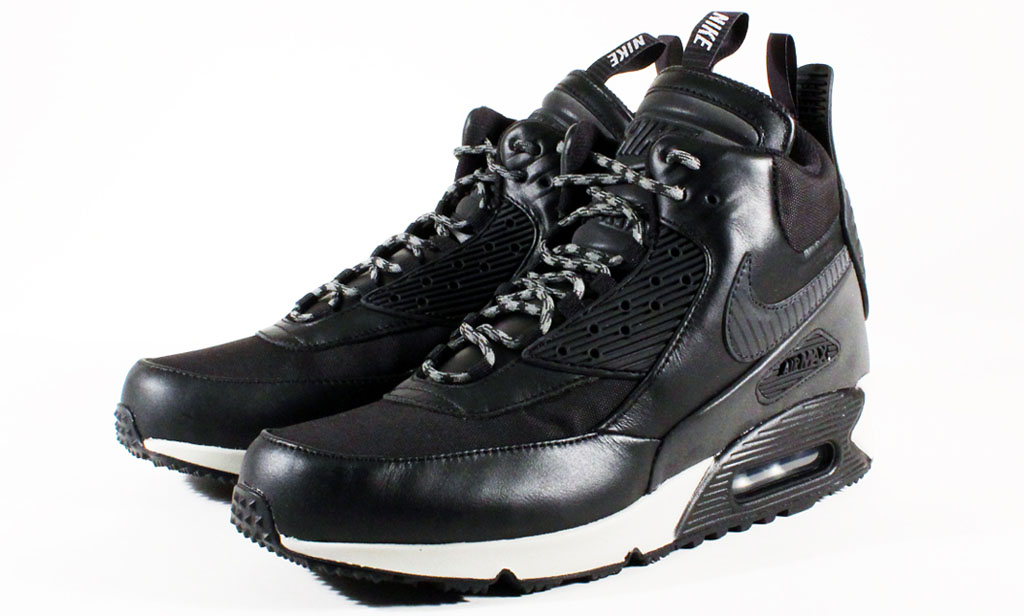 Nike Air Max 90 Sneakerboot Black/Magnet Grey 684714-001 (2)