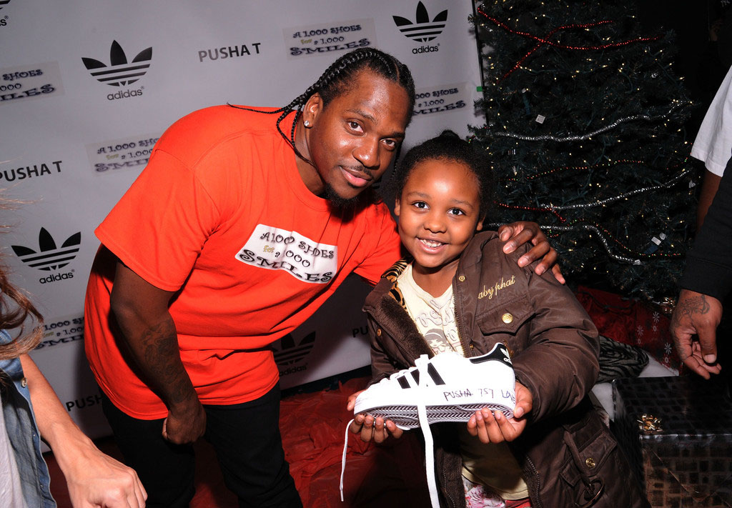 adidas Sponsors Pusha T 1000 Shoes for a 1000 Smiles Event (9)