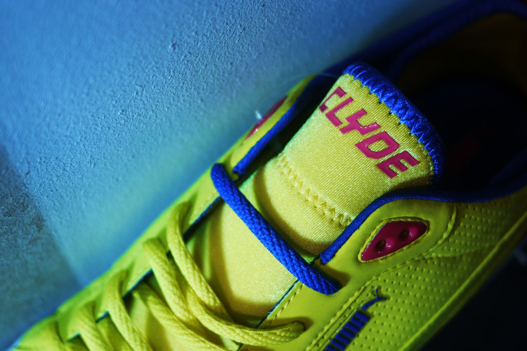 UNDFTD x PUMA Neoprene Clyde Yellow (2)