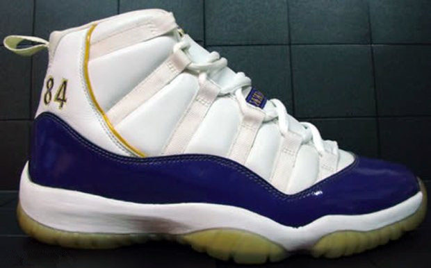 Randy Moss' Air Jordan 11 XI Vikings PE