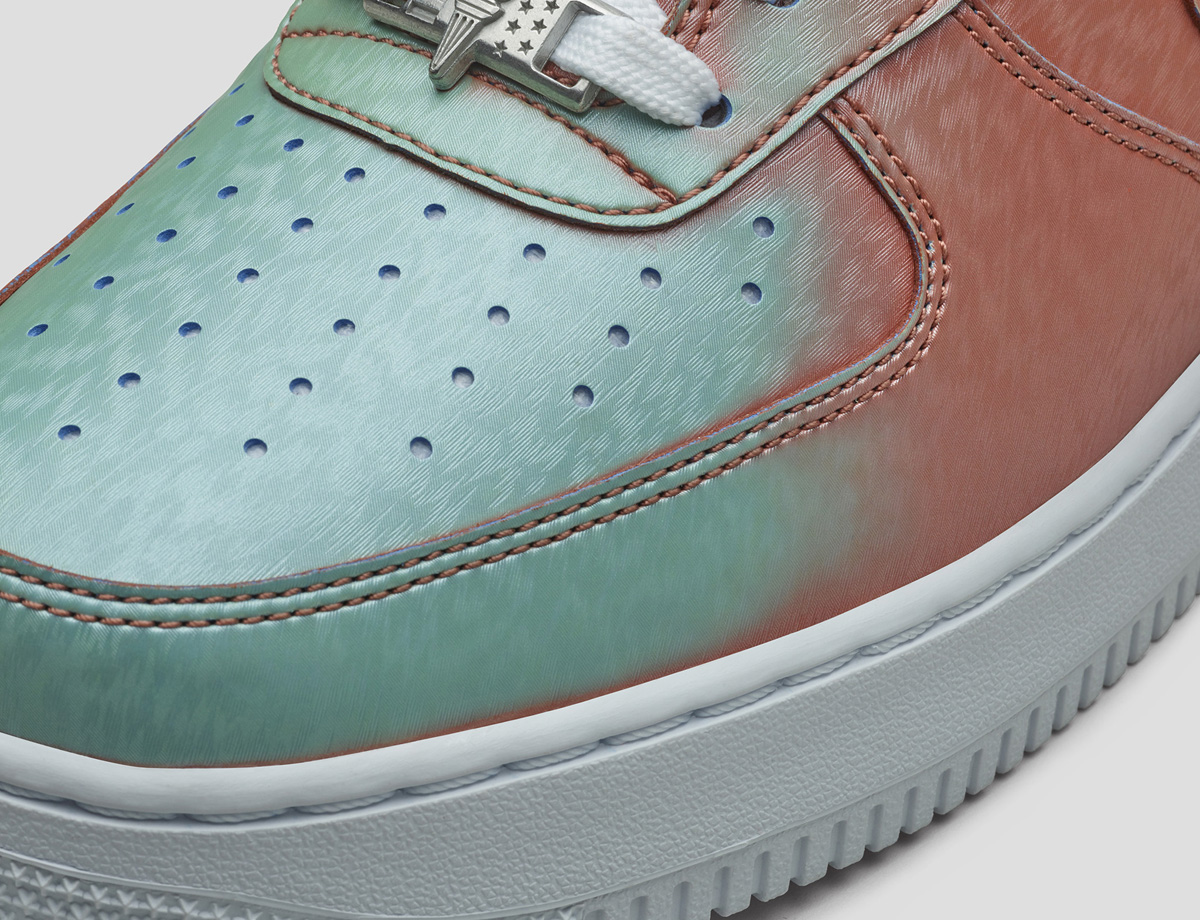 official photos 328fe 83024 Nike Air Force 1 Statue of Liberty Images via Nike