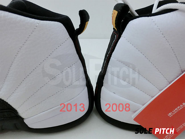 Air Jordan 12 Taxi 2008 Vs 2013 Comparison Sole Collector