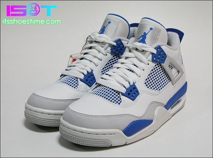 all air jordan retro 4s blue