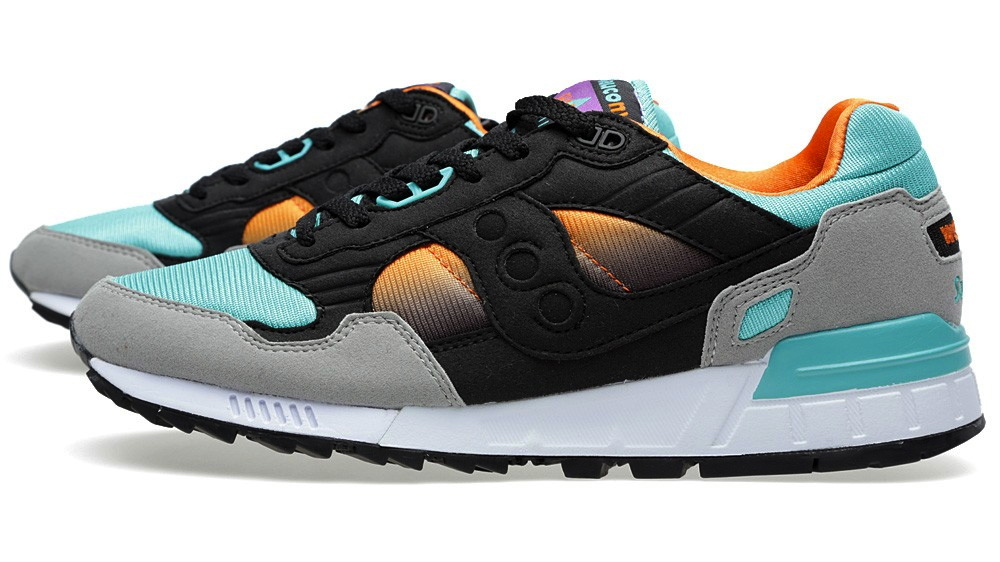 West NYC x Saucony Shadow 5000 Tequila Sunrise profile