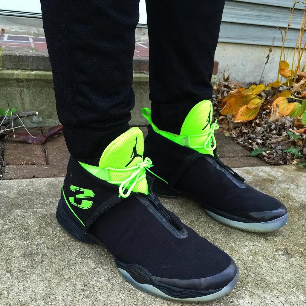 Air Jordan Xx8 Black Green