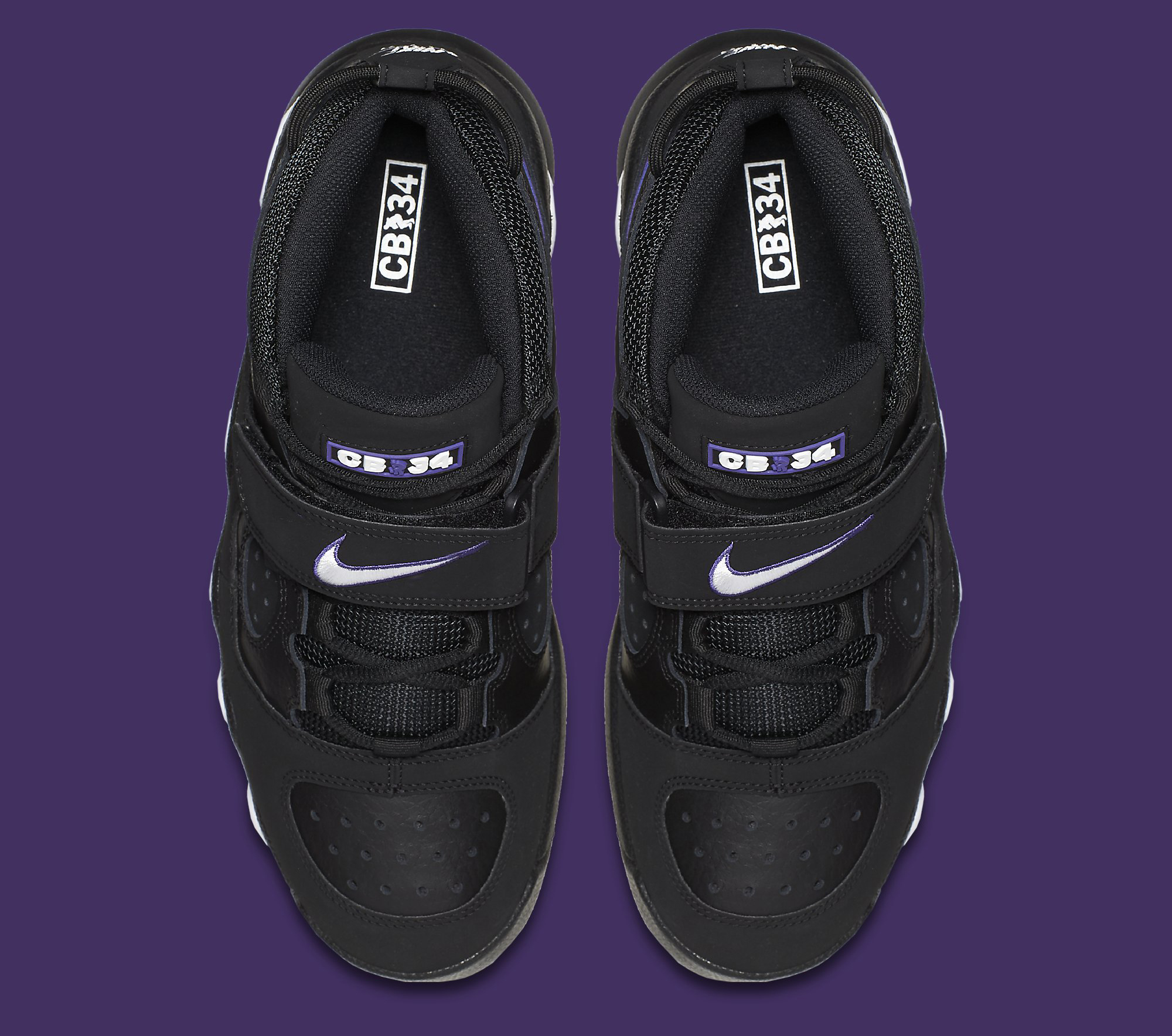Nike Air CB 34 Black Purple Top