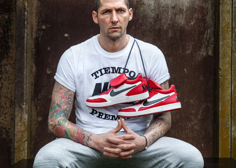Marco Materazzi x Nike Tiempo '94 Air Jordan Collection
