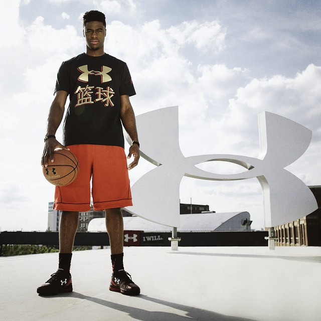 Under Armour Signs Emmanuel Mudiay