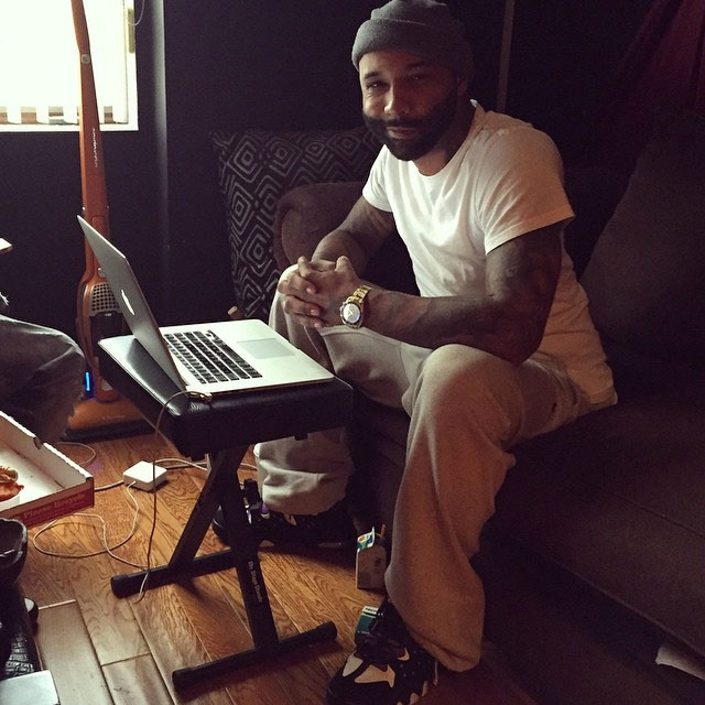 Joe Budden wearing Nike Air Max2 CB '94