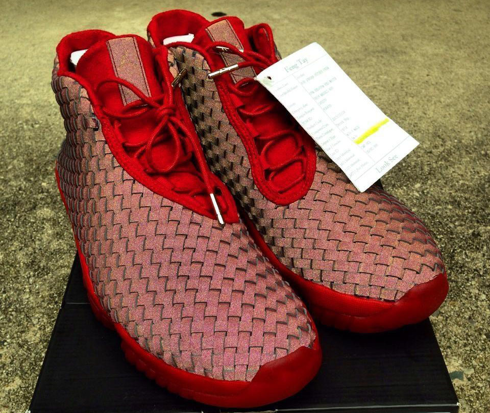 Air Jordan Future Red 3M Sample (2)