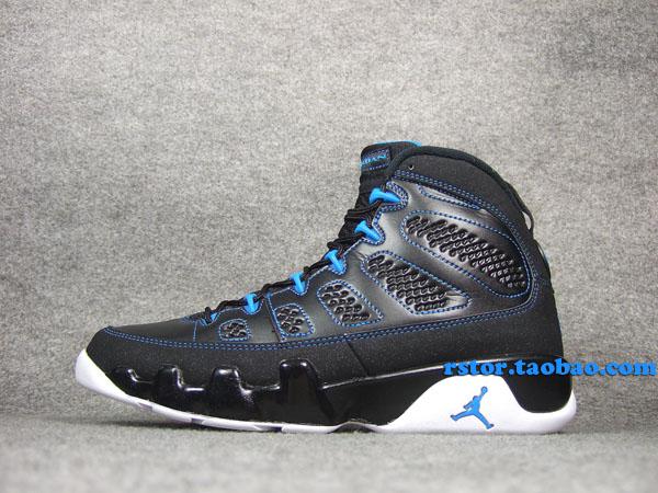 low priced 98b7c d37bf Air Jordan Retro 9 - Black/Photo Blue   Sole Collector