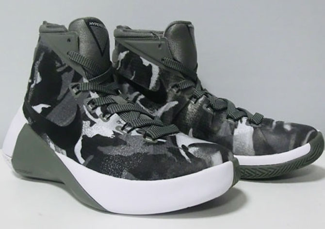 22180bbbd2ec Nike Brings Camouflage to the Hyperdunk 2015