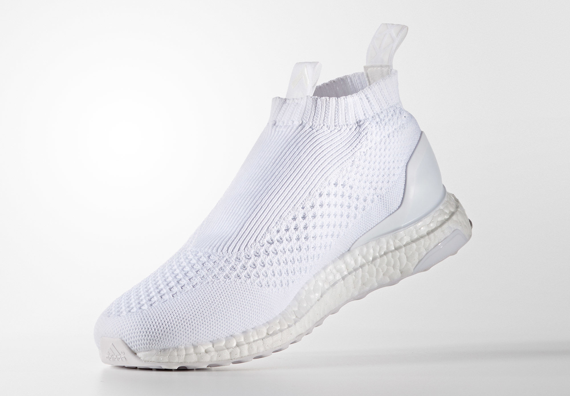 Adidas Pure Control Ultra Boost Triple White Medial