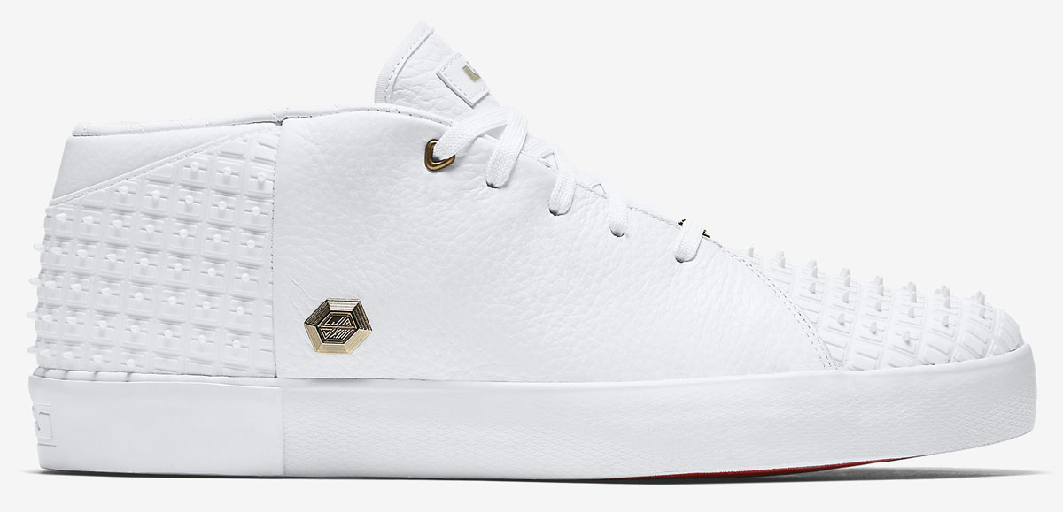 7b7a6bba0089 LeBron s Nike Lifestyle Shoe Is Dressed for Draft Day Again
