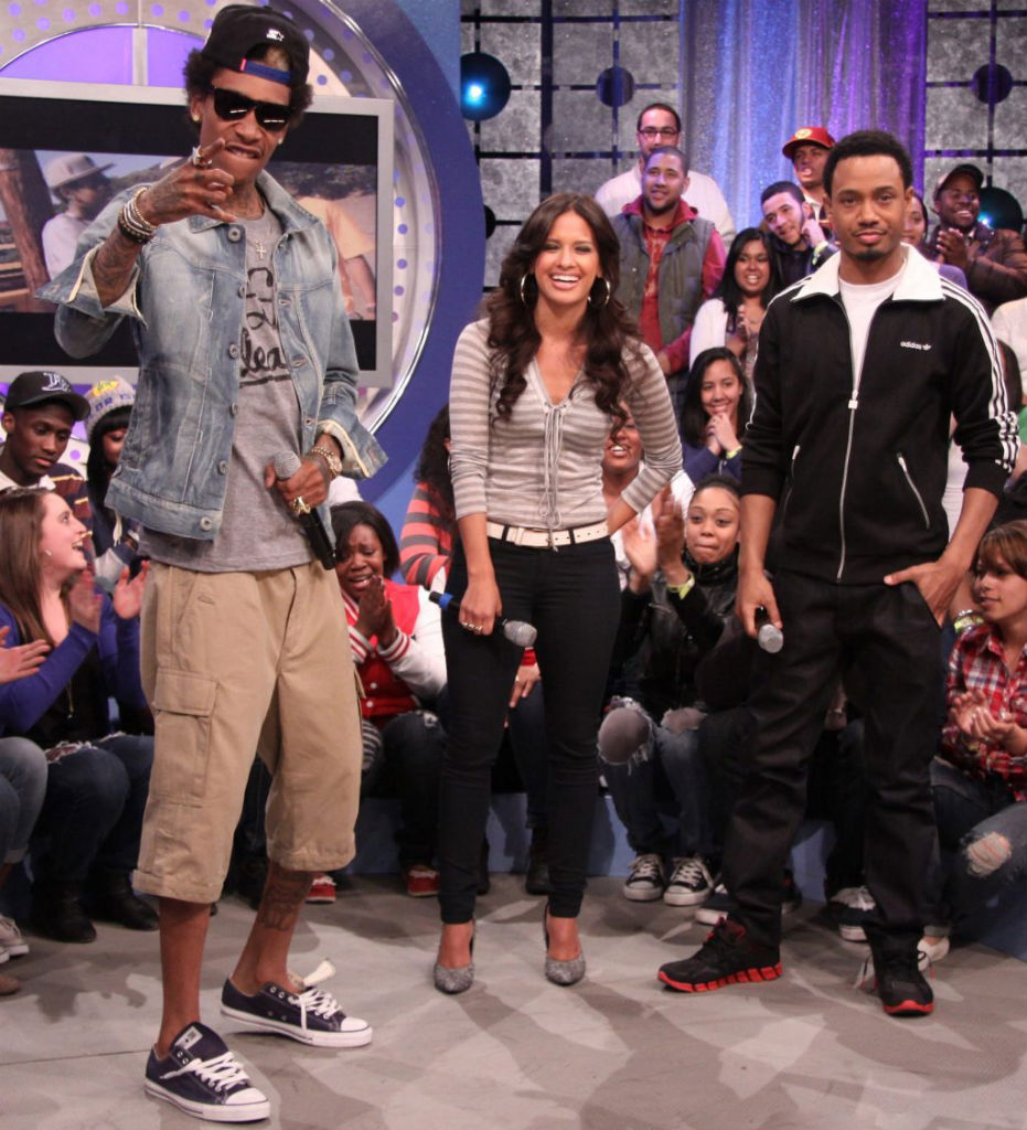 da82cee41d9f Chuck Taylor All Star DUB Magazine March 2011. Wiz Khalifa wearing Converse  Sneakers (2)